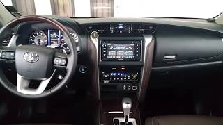 2018 Toyota Fortuner - Full View Dash Board