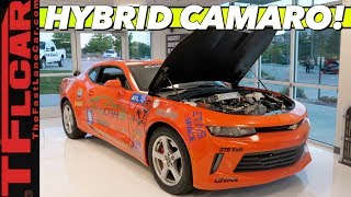 Gambar cover Could this Hybrid Camaro Be The Muscle Car of the Future? Let's Find Out!
