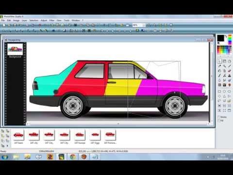 Como Pintar Carros Pelo Photo Filtre Studio X Vídeos De Viagens