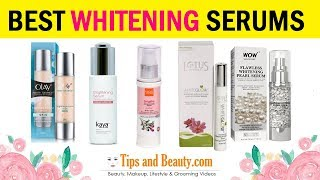 10 Best Skin Whitening Serums in India For Oily Skin, Dry Skin and Combination Skin