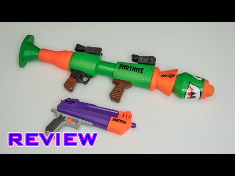 [REVIEW] Nerf Fortnite RL And HC-E | Rocket Launcher & Pistol