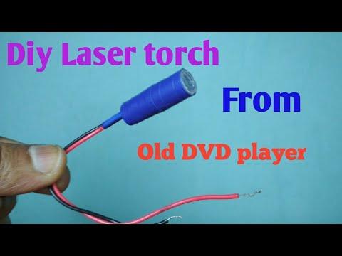 Homemade laser torch