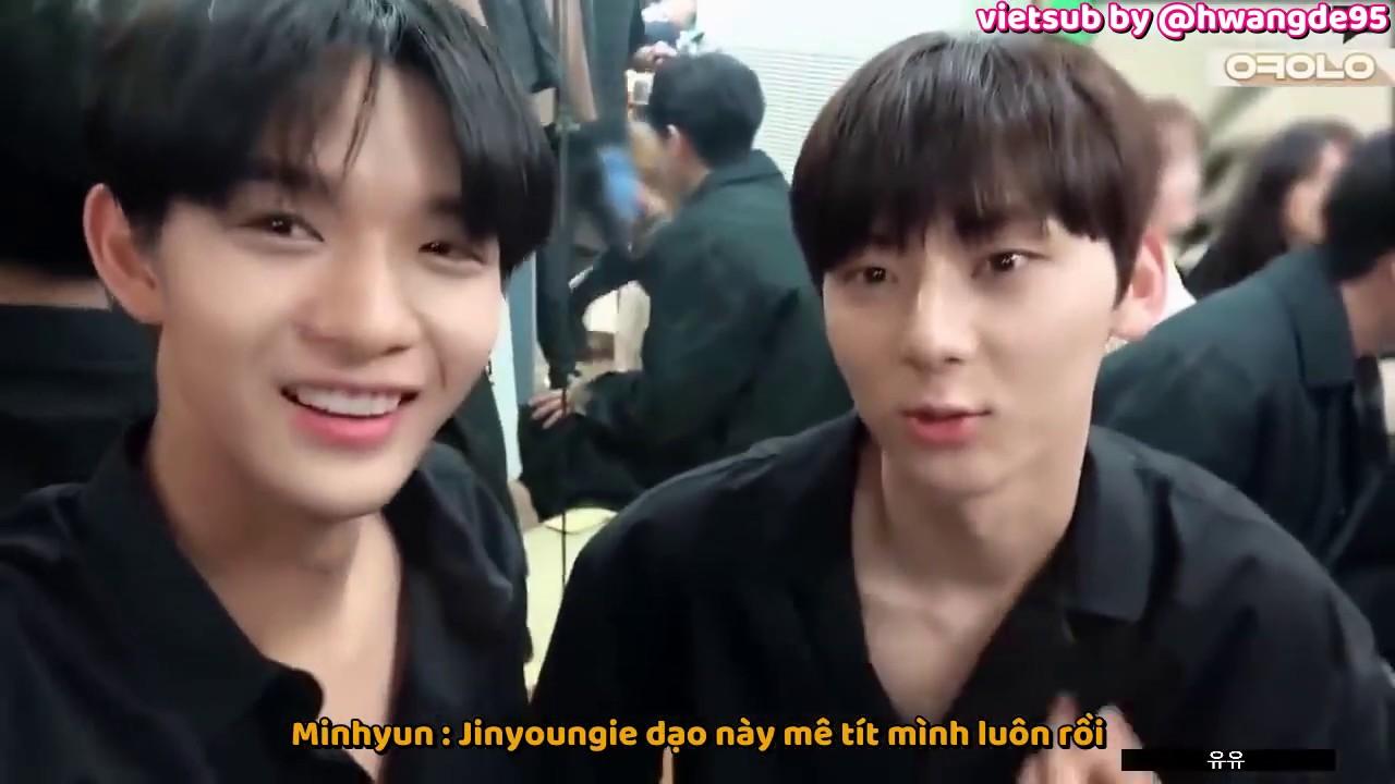 [Vietsub] Tình iu mãnh liệt giữa Minhyun hyung và các em nhỏ trong Wanna One