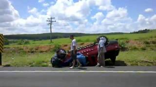 Accident And Aftermath Caught On Camera..