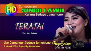 Download lagu TERATE Dangdut Koplo Campursari SINGO LAWU live Sedayu Jumantono