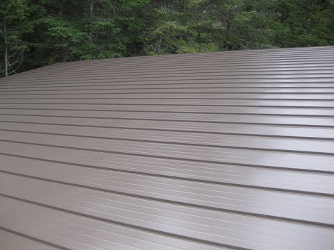 House Building Part 8: More Metal Roofing