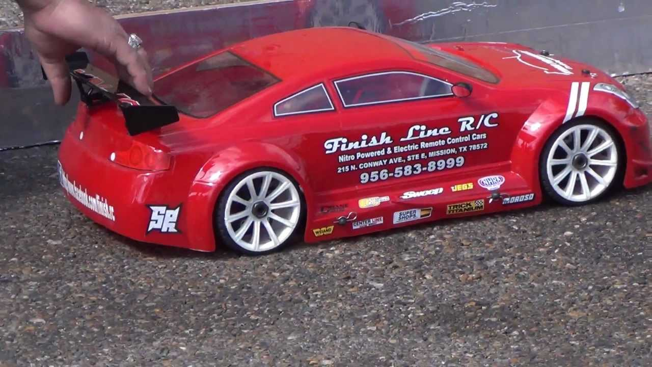 Car Fest 2013 and FINISHLINE RC pure Drag Racing Clips! - YouTube