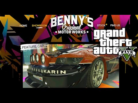 GTA 5 NEW DLC WIDE BODY AT BENNY'S - LETS BUILD THEM UP FOR RACING