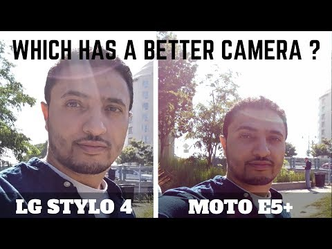 LG Stylo 4 Vs Moto E5 Plus - Camera Test Comparison!