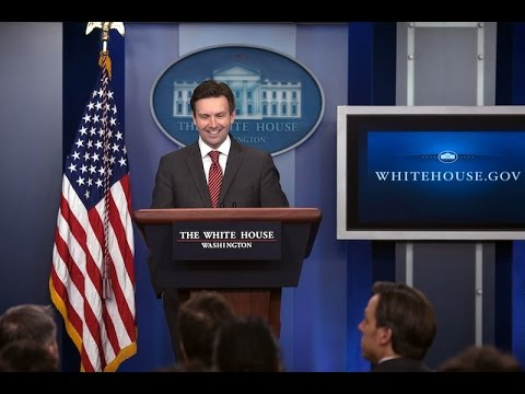 1/28/16: White House Press Briefing