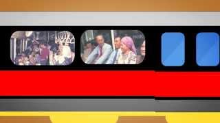 [SMRT SG50 Video Series 2]: North-South East-West and Circle Line trains!