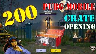 200 PUBG Mobile Crates opening | Master Blaster of PUBG