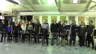Les Miserables Melbourne - inside the rehearsal room