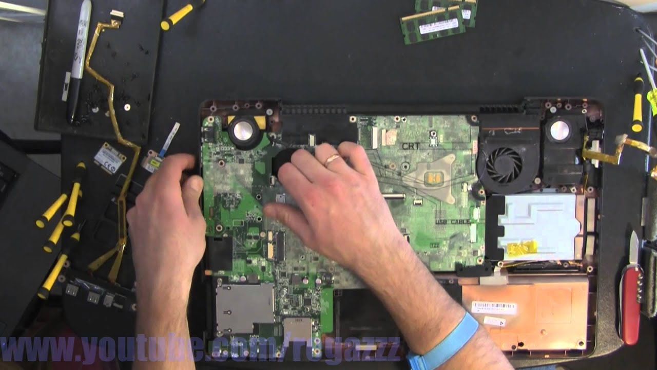 """TOSHIBA Satellite P505 P505-S8980 18.4/"""" Laptop CPU Cooling FAN"""