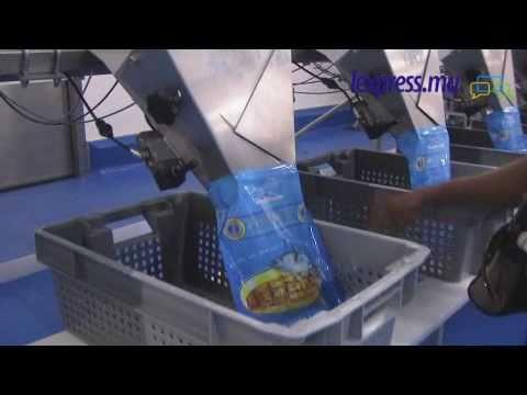 Visite de presse organisée par SAPMER à son nouvel entrepôt de stockage de thon