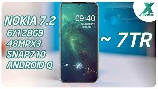 Nokia 7.2 Siêu Mỏng Có Camera Như Mate 30