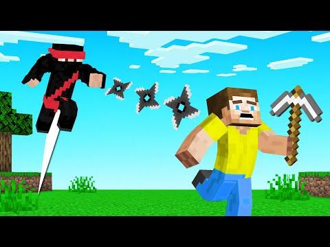 Super NINJA HUNTERS vs SPEEDRUNNER! (Minecraft)