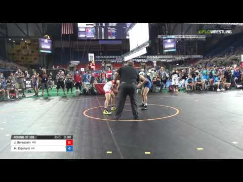 Junior FS 126 Round of 128 - Jacob Bernstein (MD) vs. Michael Crockett (AR)