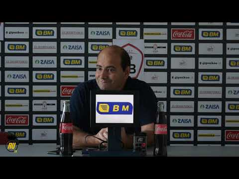 Jornada 6: Rueda de prensa de Alberto Iturralde