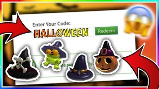 *OCTOBER* ALL WORKING PROMO CODES ON ROBLOX 2019| HALLOWEEN TOY CODE (NOT EXPIRED!)