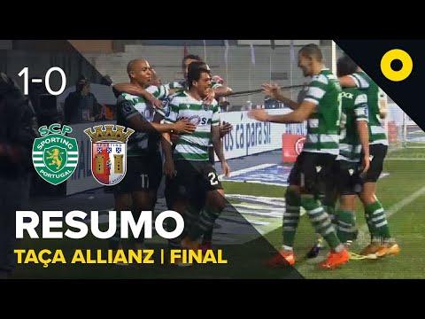 Resumo: Sporting 1-0 SC Braga - Allianz Cup | SPORT TV