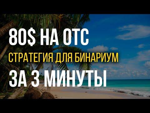 Торгуем на ОТС, быстрый доход на бинарных опционах в выходные дни, ОТС Бинариум