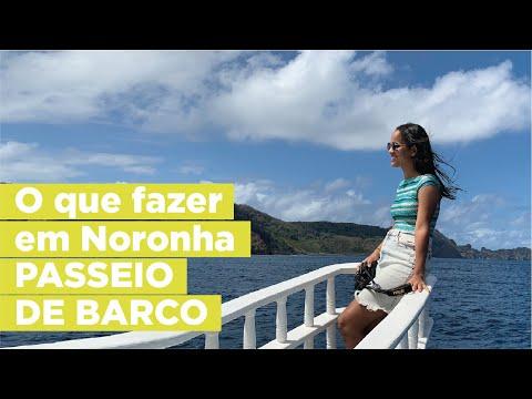O que fazer em Noronha - Passeio de Barco e Plana Sub