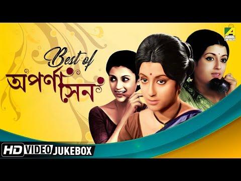 Best of Aparna Sen | Top 15 Bengali Movie Songs Video Jukebox | অপর্ণা সেন
