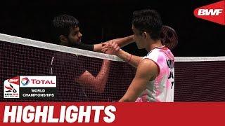 TOTAL BWF World Championships 2019 | Semifinals MS Highlights | BWF 2019