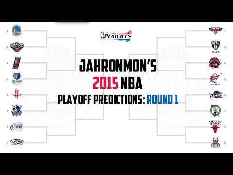 2015 NBA Playoff Predictions - Round 1