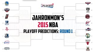 2015 nba playoff predictions round 1