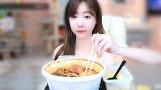 셀리♥ 매운갈비찜 맛있게 먹는 방법!