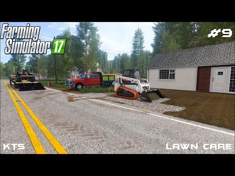 Building the driveway | Lawn Care | Farming Simulator 2017 | Episode 9 thumbnail