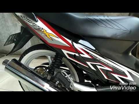Modifikasi Honda Supra X 125 Standar Youtube