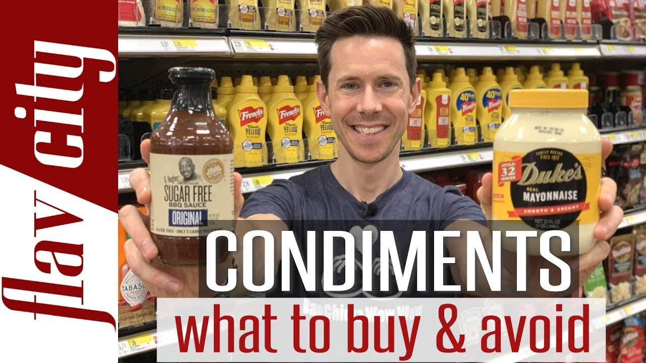 Condiments To Buy & Avoid This Summer - Ketchup, Mustard, Mayo, And More!