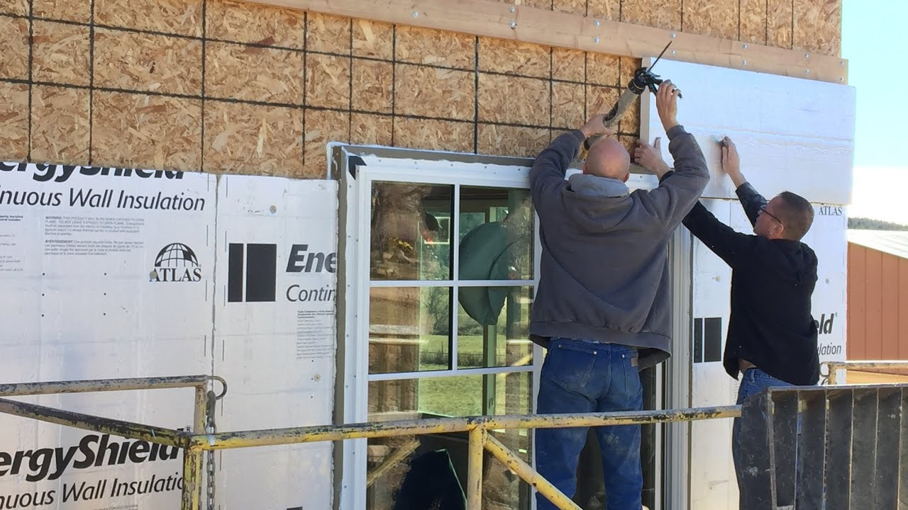 How to install thermalbuck exterior insulation as the - How to install exterior insulation ...