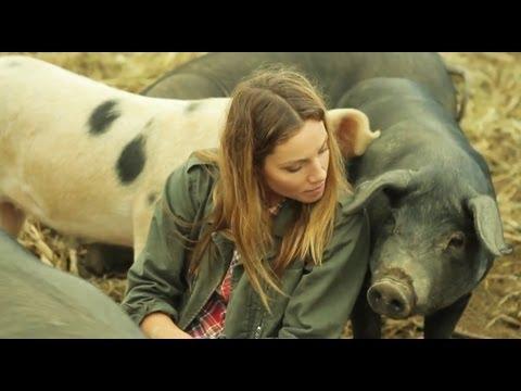 Lauren's Day on the Farm