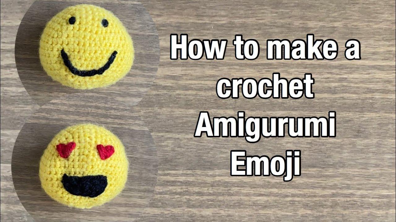 Ravelry: Amigurumi Emojis pattern by Gretel Crespo | 720x1280