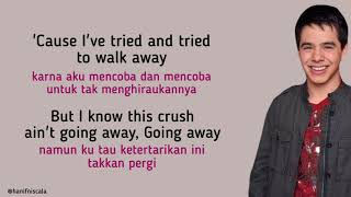 Download David Archuleta - Crush   Lirik Terjemahan