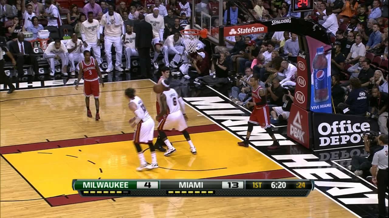 106b8d9909c LeBron James  Top 10 Plays of 2012-2013 Regular Season - YouTube