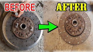 Wonderful Restoration of Old Clutch Plate | Clutch Plate Rebuilding | Clutch Plate Repairing