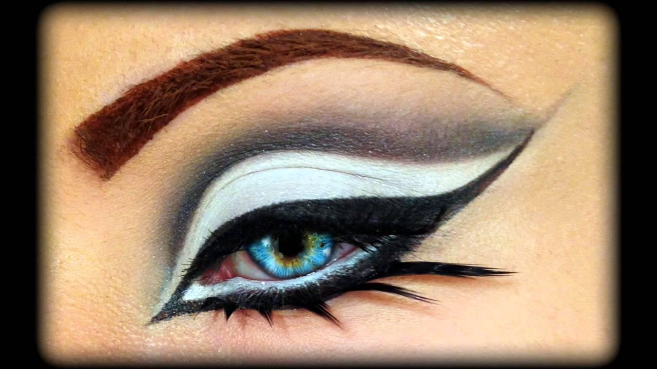 Christina aguilera burlesque inspired makeup tutorial youtube.