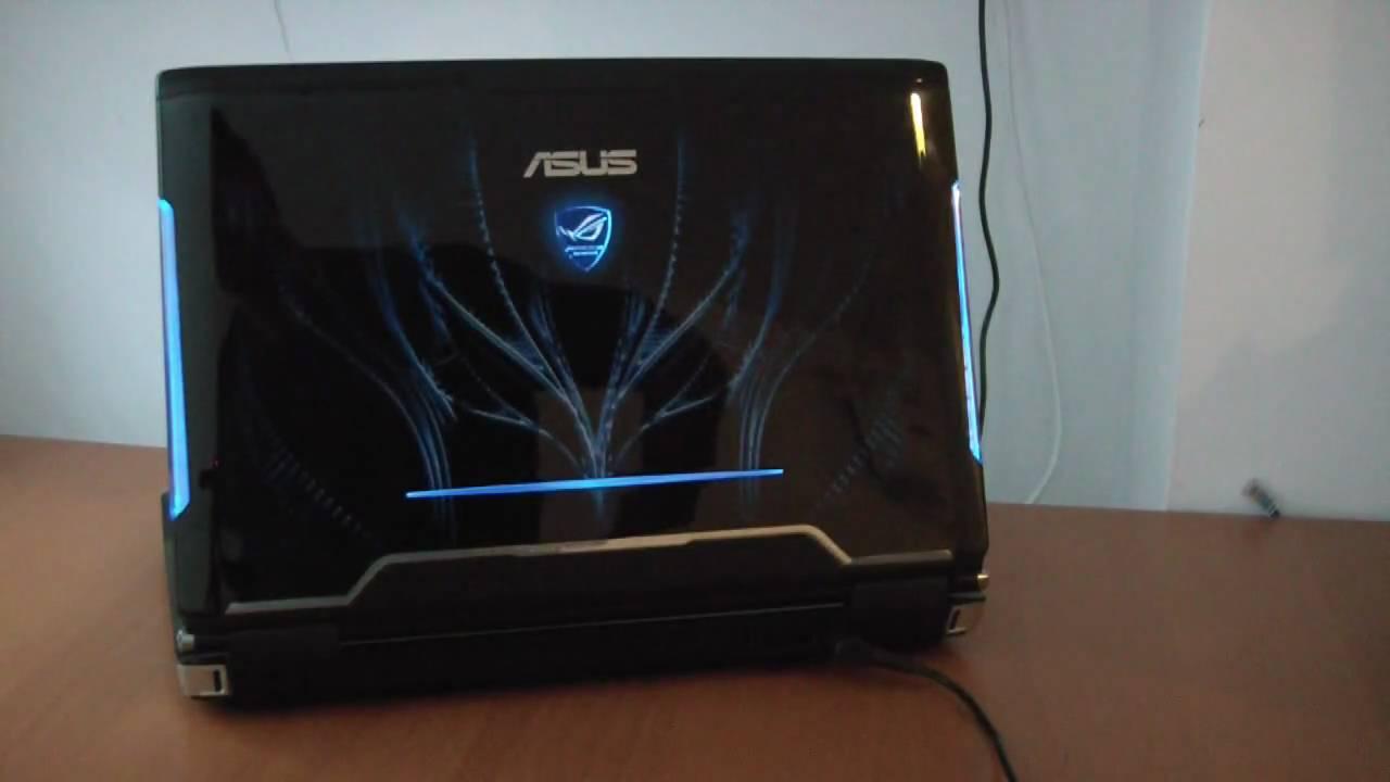 Asus G51Vx Notebook Windows