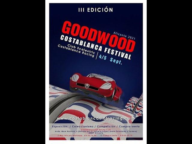 Bola Extra: Goodwood Costablanca Festival Slot of Alicante. 4 y 5 de Septiembre. Todo slot.
