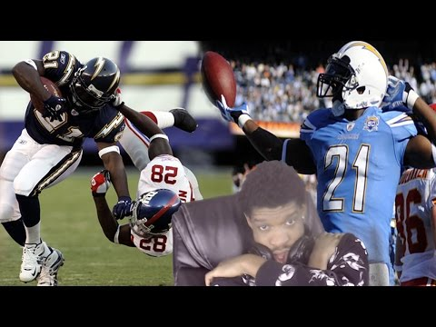 GREATEST RB OF ALL TIME!? LADAINIAN TOMLINSON NFL CAREER HIGHLIGHTS REACTION