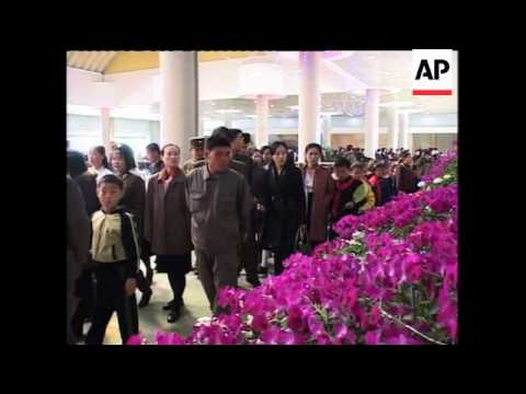 Celebrations as 98th anniversary of late Kim Il Sung''s birth is marked