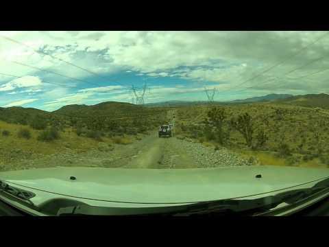 Colosseum Mine trail. Primm Area, Nevada