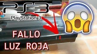 Reparación PS3 FAT con luz roja parpadeante o luz amarilla (REFLOW)