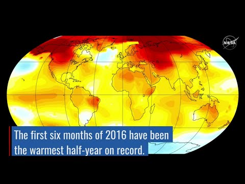 Record-breaking climate trends 2016 – rising temperatures and shrinking sea ice