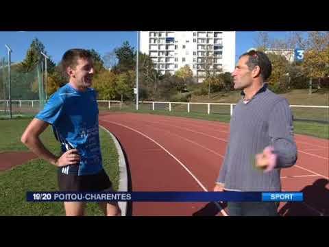 Portrait de Vincent Migné un triathlète qui s'aligne sur le marathon de La Rochelle